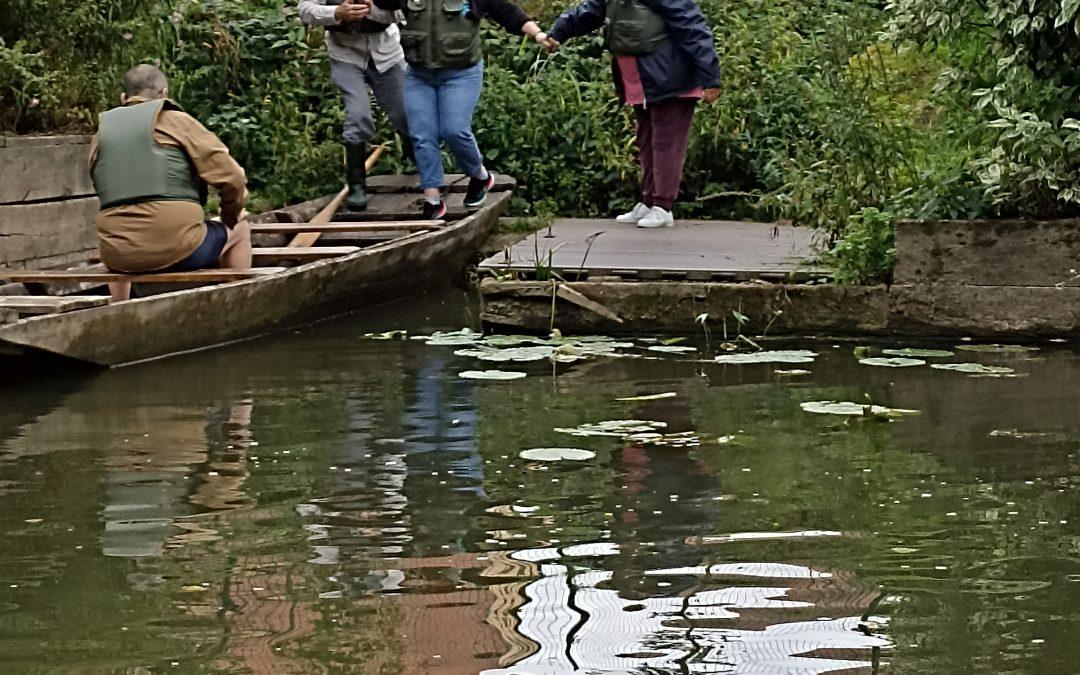 «Balade au fil de l'eau au départ de l'embarcadère du moulin de Sarrewerden»